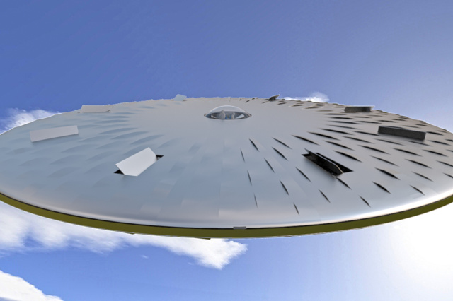 flying discus