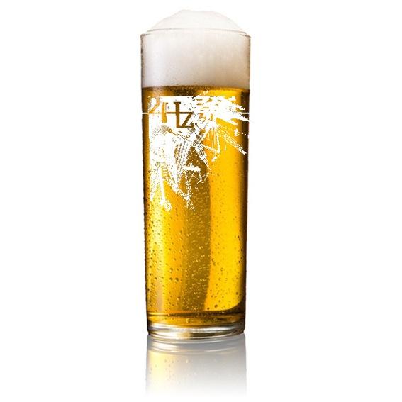24Hz beer glass