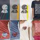 Wiener Stoff Complete – 4 Shirts+Kunstdruck+Baumwolltasche (Versand außerhalb Österreichs)
