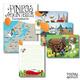 Reise-Set: Europakarte, Postkarten (3x), Notizblock