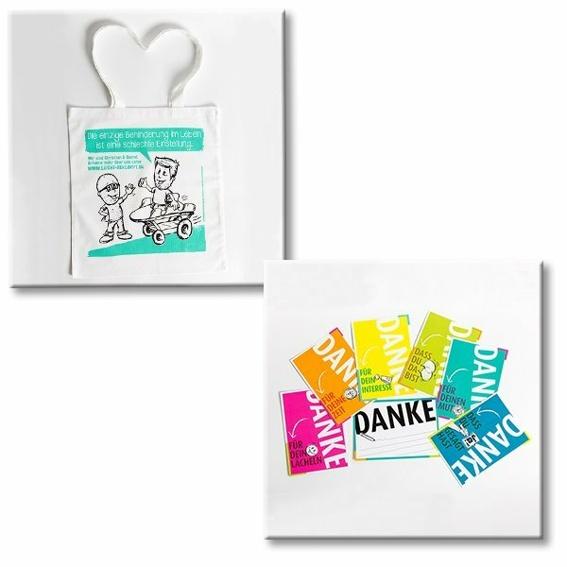 Kombipaket Tasche und Postkarten