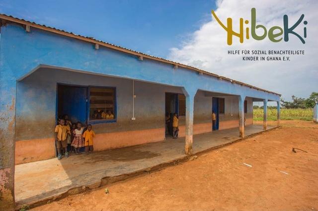 Sanitäre Anlagen für 50 Kinder in Ghana