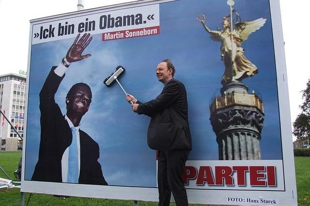 Wahlkampf der PARTEI Berlin