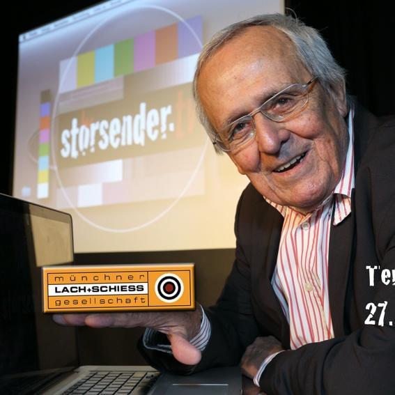 """Sondervorstellung #3 von Dieter Hildebrandt am 27. Oktober 2013 in der """"Lach- & Schieß"""""""