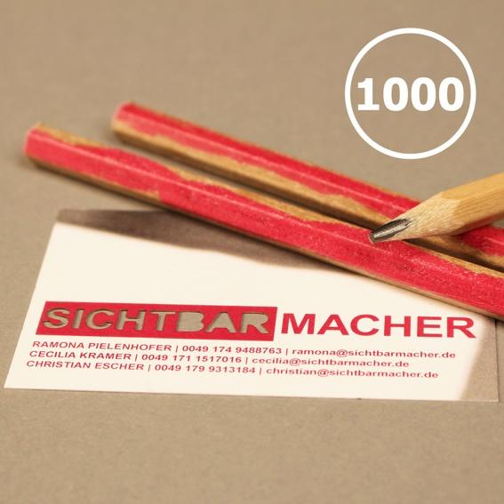 1000 Unternehmens-Stifte