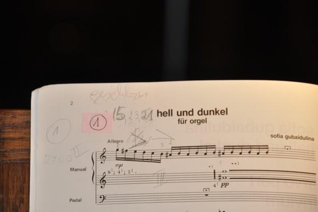 Sofia Gubaidulina - Hell und Dunkel - Fertigstellung eines Albums
