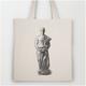 "[JUTEBEUTEL] ""BUDDHIST MONK - DAVID SHAKARA"" + Poster + Sticker"