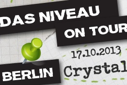 Das Niveau - Rockt! - BERLIN (Crystal)