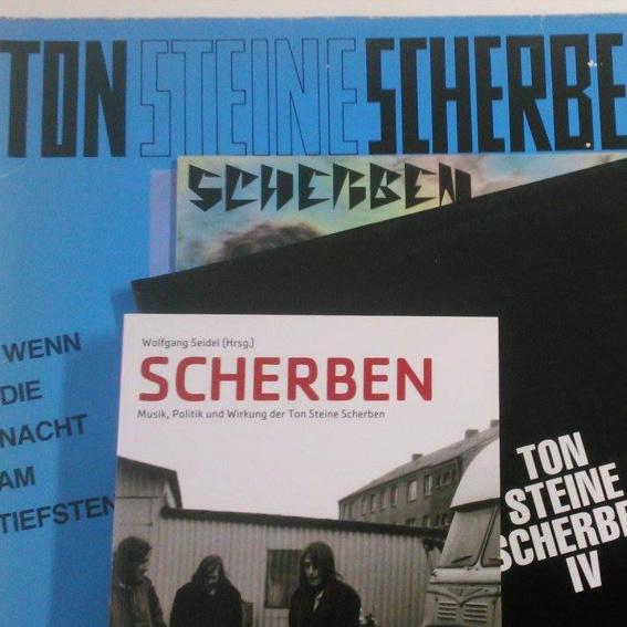 Scherben Paket Buch (signiert) + Vinyl