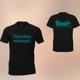 T-Shirt Herrn Schwarz - Tierschutz verbindet!