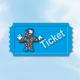 """Eintrittskarte für die """"Crowdfunding gerockt Party"""""""