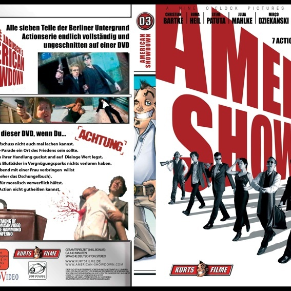 Receive a signed and limited American Showdown 1-7 DVD!