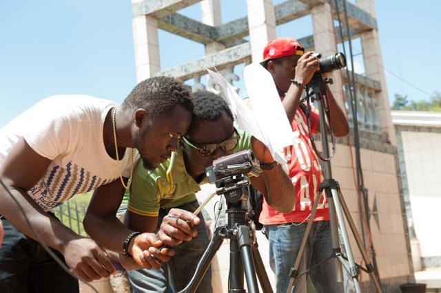 Filmequipment für Filmschule in Kamerun
