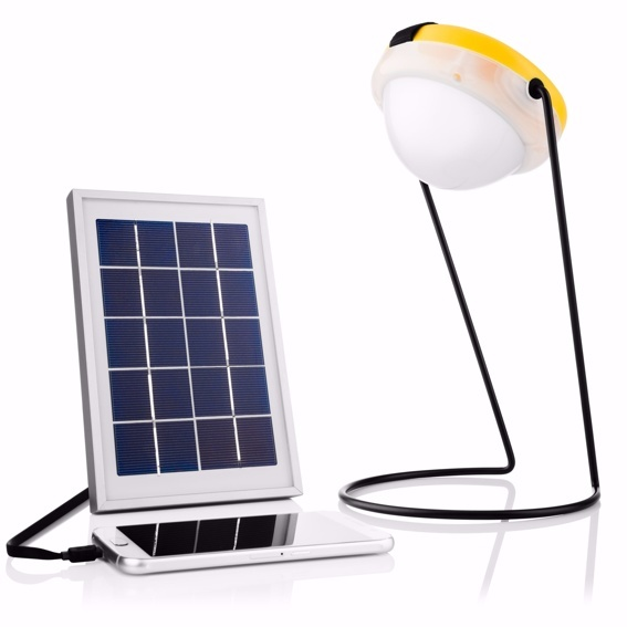 SunKing Pro AllNight - Solarlampe mit Ladegerät