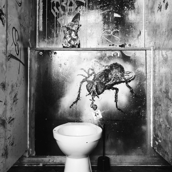 Patenschaft: Toilettenkabine