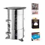 Komplettpaket (▼2̶̶2̶̶0̶̶ ̶€) - GloW yaMbao inkl. Grillplatte plus Kochbuch, SunKing und AMUZAbag