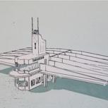 Siebdruck - Architektur in Asmara