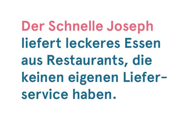 Der Schnelle Joseph