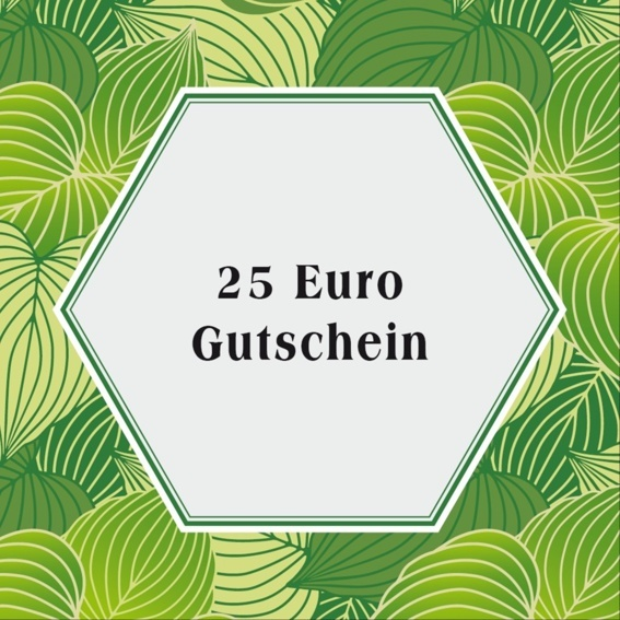 25€ Gutschein für den Evergreen Ideas Shop
