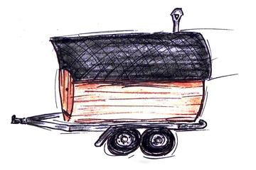 Mobile Sauna in Berlin