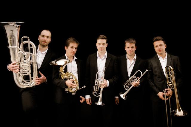CD-Produktion - BBQ | Berlin Brass Quintet