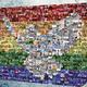 """""""Mosaik"""" A3 Poster mit persönlicher Widmung"""
