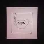Das Magazin + Original Linoleum-Druck von Judith Lenz (einfarbig)