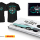 Bildband, Shirt und das Supporter-Blechschild für die Garage