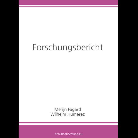 Forschungsbericht als Buch in Hardcover