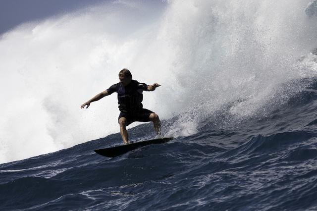 Die größte Welle der Welt surfen