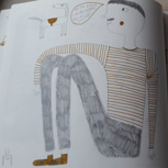 Signierte Illustration eines der Künstler(innen)