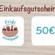 Einkaufsgutschein 50€