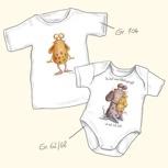 Pumpf-Shirt oder pumpfiger Baby-Body / Un body de bebé de un Pumpf o una Pumpfcamiseta