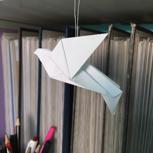 Origami-Friedenstaube