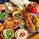 Einladung zu einem orientalischen Essen