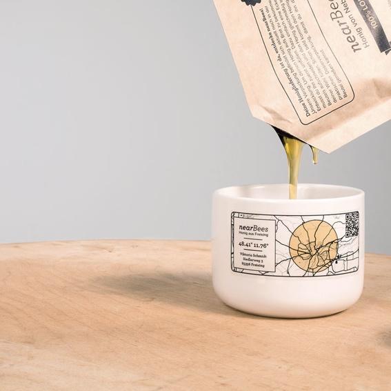 Early-Bee – honey pot and honey