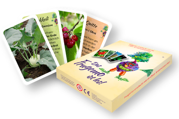 Fruchtgemüsemonster – Kartenspiel für Kinder ab 3
