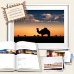 MAROKKO DELUXE EDITION - Dromedar. Signiertes Buch, gerahmtes Bild (50x75 cm) & zwei Kartensets. Deutschlandweit freihaus!