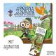"""Buch """"Pinipas Abenteuer Band 3 – Die Gartendetektivin und die verschwundene Silbergabel"""" mit Signatur"""