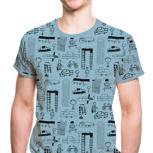 "Kipepeo Männer Shirt ""Nairobi City"""