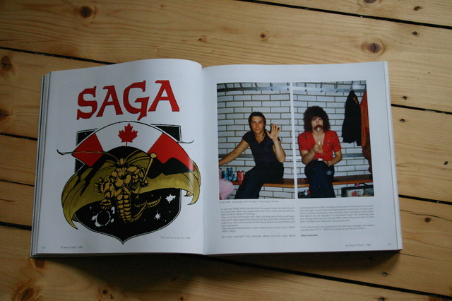 Das Buch: 40 Years Of SAGA
