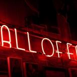 Ein Platz auf der Wall of Fame