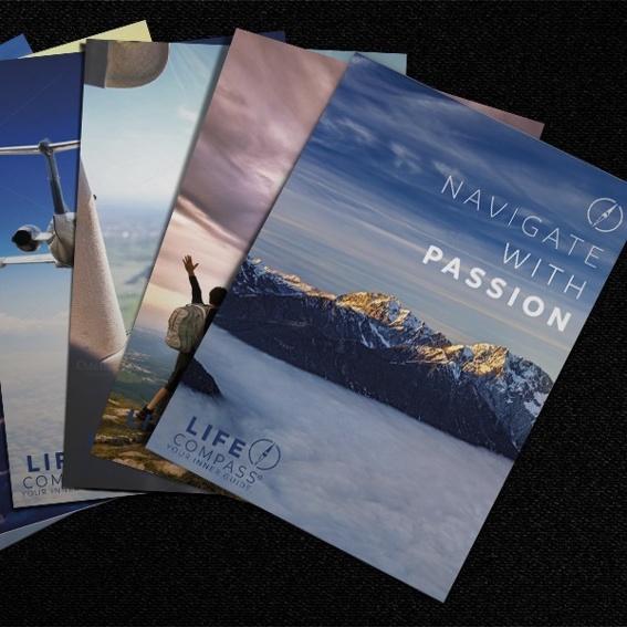 Motivations-Postkartenset (6-tlg.) zum Versenden und Verschenken