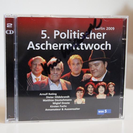 5. Politischer Aschermittwoch, Berlin 2009 - handsignierte Doppel-CD