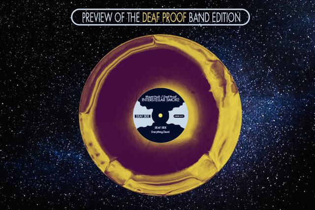 Mount Hush | Deaf Proof - Interstellar Smoke Vinyl