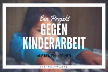 Im Kampf gegen Kinderarbeit auf den Philippinen
