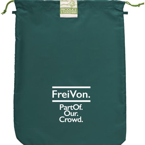 rePETbags-Einkaufstasche mit FreiVon.-Logo