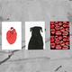 "Postkarten Set ""Seeing Her Ghosts"" II"