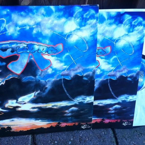 Terra Pi Vinyl Doppelalbum mit Riesenbooklet