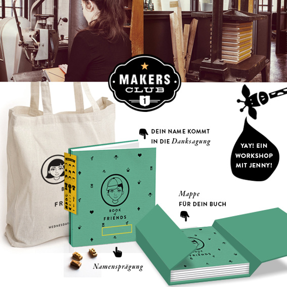 THE BOOK & MAKERS CLUB I